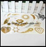Hot New Products for 2015, Metallic Temporary Tattoo Sticker, Safe and Non-Toxic