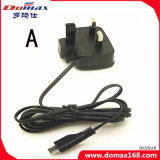 Mobile Phone Accessories UK Plug Wired Wall Charger for Samsung I9000