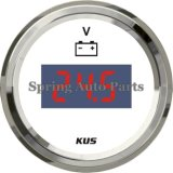 """Sq 2"""" 52mm Digital Voltmeter 9-32V with Backlight"""