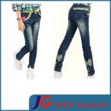 Girls Kids Long Lace Button Foot Pants (JC5199)
