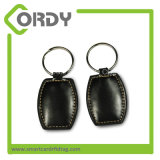 ATA5577 Keychain leather keyfob smart door key