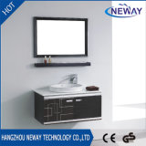 New Wall Mounted Makeup Stainless Steel Bathroom Cabinet with Mirror