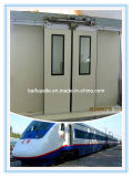 Aluminum Alloy Electro-Hydraulic-Control Baiparting Train Door