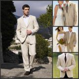 Men′s Dress Suits Coat Pants Vest Wedding Evening Groom Tuxedo Suit Ld1516
