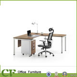 3 Years Warranty for L-Shape MFC Executive Desk with Pedestal