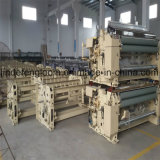 Double Nozzle Electronic Weft Feeder Water-Jet Loom with Cam Shedding