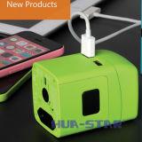 Multifunction Tablet Travel Charger (HS-T101DU)