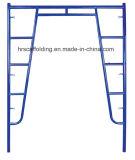 Open H Walkthrough Powder Coated Frame Scaffold