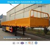 3axles 30t Drop Side Truck Semi Trailer Truck for Sale
