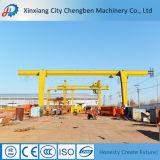 High Safety Electric Hoist Single Girder Gantry Crane 5 Ton Price