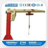 5t Workshop Slewing Arm Jib Crane (BZ Model) with Electric Hoist