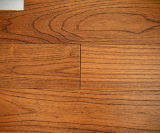 Wire-Brush Finish Asian Teak Wood Floorsw-4395