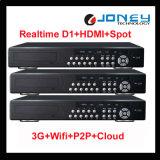 Professional 3G WiFi P2p 4/8/16 Channel CCTV 960h DVR