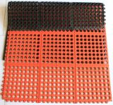 Anti Fatigue Colorful Drainage Rubber Kitchen Mat Rubber Door Mat