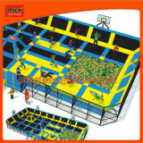 Mich Big Trampoline Bed with Foam Pit