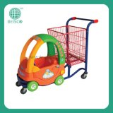 180L Plastic Supermarket Shopping Cart