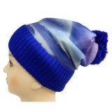 Knitted Beanie with Sublimation Printing NTD1666
