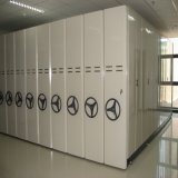 Steel Archives Mobile Shelving/Metal Movable Compactor Mobile Filing Cabinet