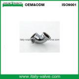 Brass Polishing Chromed 45 Deg End Equal Elbow (AV-BF-8004)