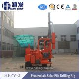 Yanmar Diesel Engine, Hfpv-2 Pile Driver for Construction Solar Plant