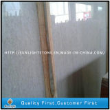 Chinese White Marble Stone Screw Beige Slabs for Wall Tiles