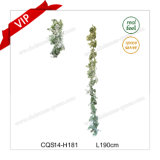6-7FT Outdoor Extension Cord Green Christmas Decoration Wall Art