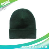 Customized Rolled Edge Acrylic Unisex Knit Winter Beanie Hats (042)