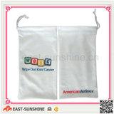 Full Colors Digital Printing Drawstring Bags Microfiber for Glasses/Sunglasses, etc