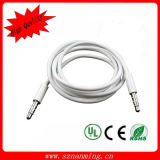 High Quality Computer Headphone Microphone 3.5mm Aux Cable