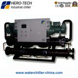 High Eer Energy Saving Water Cooled Screw Water Chiller for Hotel/Shopping Mall