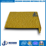 Yellow Safety Non Slip Fiberglass Stair Treads for Industrial Areas