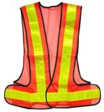 High-Visibility Roadway Reflective Vest Hs716