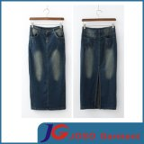 Ladies Denim Long Skirt Chinese Supplier (JC2061)