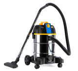 307-20/25/30/35L Stainless Steel Tank Wet Dry Vacuum Cleaner with or Without Socket