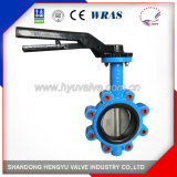 Marine Type Butterfly Valve with Aluminum Handle for Industrial Use