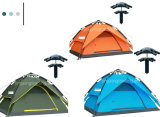 Popular Double-Skin Aluminium Pole Camping Tent for 4 Persons (JX-CT022)