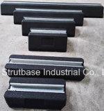Rubber Roof Block C/W 41X21 Channel Steel