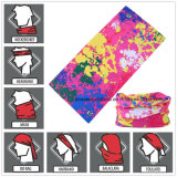 Factory Produce Custom Print Polyester Neck Tube Scarf