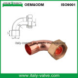 ANSI B16.22 Quality Copper U Fitting with Brass Cap /Copper Connector (AV8009)
