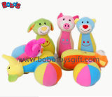 "7"" Plush Baby Farm Friend Bowling Ball Toy Stuffed Animal Style Kids Bowling Ball Toy"