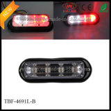 White Red Dual-Colored Car Surface Mount Strobe Lights