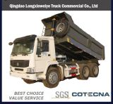 Hot Sale HOWO 25tons 6X4 Tipper Truck for Transportation