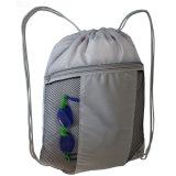 OEM Design Promotion Polyester Drawstring Bag
