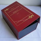 Special Red Book Structure Cardboard Paper Box