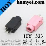 3.5mm Straight DIP Phone Jack / AV Jack (Hy-333)