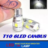 Auto Car LED T10 LED 6SMD 5630 5730 Chip Car Canbus No Obc Error LED Lamp