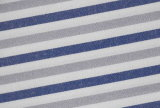 Grey/Navy Stripes Streak Comfortable Yarn Dyed Shirt Fabric