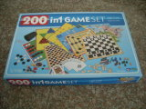 200in1 Game Set, Tinbox and Colorbox (BF1010)