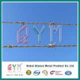 Galvanized Barbed Wire Fencing / Barbed Wire Length Per Roll