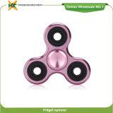 Wholesale New Product Tri-Spinner, Finger Spinner Fidget Steel Ball Aluminum and Copper Toys
